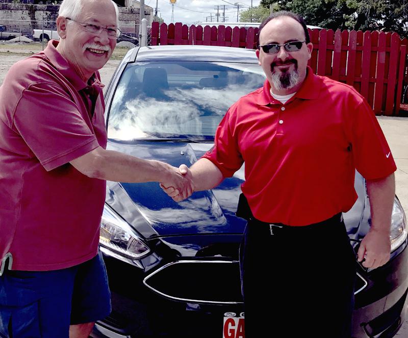 Eric Livingstone Is Winner of New Ford Focus